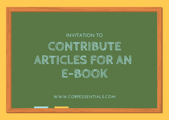 invation to contribute for an Ebook